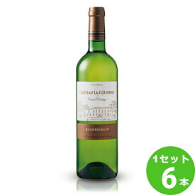 コーディアシャトー・ラ・クードレ・キュベ・プレステージ〈白〉Ch.LaCoudraieCuv´eePrestigeBlanc定番 750 ml ×6本 フランス ボルドー サッポロビール ワイン【送料無料※一部地域は除く】【取り寄せ品 メーカー在庫次第となります】