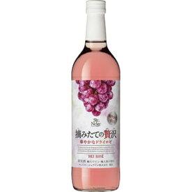 サントネージュワイン サントネージュ 摘みたての贅沢 華やかなドライロゼ 720ml ×1本 ビ-ル ワイン