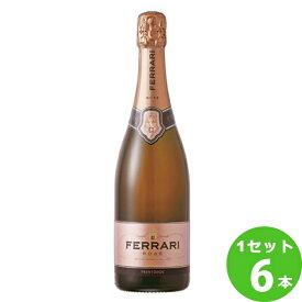 [ママ割3倍 キャッシュレス5%]フェッラーリ・フェッラーリ・ロゼFerrari Rose 750ml ×6本 イタリア / ITALIAトレンティーノ・アルト・アディジェ / TRENTINO ALTO ADIGE 日欧商事 ワイン【取り寄せ品 メーカー在庫次第となります】