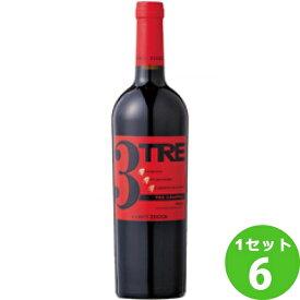 TREgrappoliRossoContiZeccaトレ・グラッポリコンティ・ゼッカ750ml×6本 ワイン【送料無料※一部地域は除く】