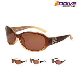 高性能 偏光サングラス レデイーズ 日焼け対策 おしゃれ コーデ ブランド オーバル アジアンフィット アイゾーン ブランド ID-P382