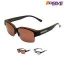 目へのストレスを軽減 オーバーサングラス メガネの上からかける 高性能 偏光サングラス アジアンフィット アイゾーン…