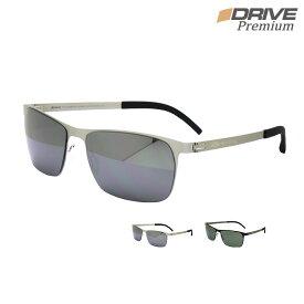 超軽量 高性能 高品質 偏光サングラス メンズ UV400 UV 紫外線カット シャープな印象 超軽量 スクエア アイゾーン ブランド Premium-P131