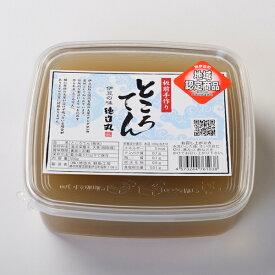 ところてん 板状 4−6食分 550g 伊豆産天草使用