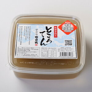 生ところてん 板状 4−6食分 550g 伊豆産天草使用