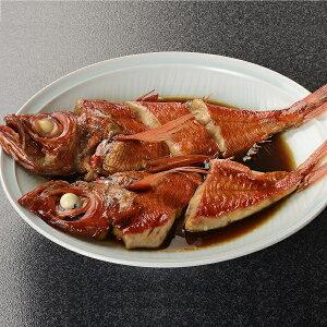 伊豆近海産 金目鯛 煮付け 調理済み 地金目鯛漁師煮(お頭付5切)