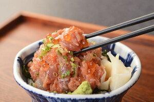 新商品 網元本店の海鮮まかない丼(ズワイガニ)5個とさしみ地醤油セット
