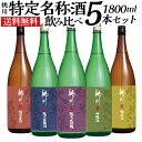 日本酒 飲み比べセット 桃川 送料無料 純米大吟醸入り 1.8L×5本セット 青森県 辛口 1800ml 純米吟醸 純米酒 純米原酒…