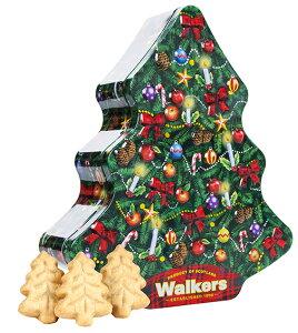 クリスマスツリー缶クリスマスがますます楽しくなるツリー缶。ツリーを型取ったショートブレッドがいっぱい詰まってます。表面のリボンや飾りはエンボス加工で立体的に見えるこだわり