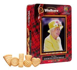 エリザベス女王缶サンタクロース エリザベス女王の気品あるお姿を映しだした貴重なロイヤル缶。