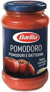 バリラ ポモドーロパスタだけでなく、煮込み料理やスープのベースまで、様々な料理の土台となるポモドーロ。