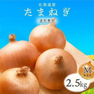 【送料無料】北海道産 たまねぎ M 2.5kg 1箱 | 玉ねぎ タマネギ 玉葱 玉ネギ オニオン 箱 まとめ買い 野菜 根菜 業務用 上越フルーツ
