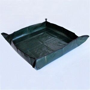 ガーデニングトレーシート 園芸シート 植え替え 苗 土汚れ 鉢植え 汚れ防止 防水 水洗い