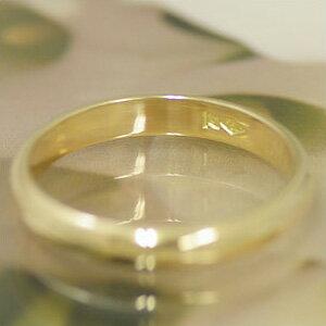 結婚指輪マリッジリングゴールドペアリングシエールK18製【1本販売】造幣局検定マーク入鏡面仕上げスタンダード★幸せの絆★【楽ギフ_名入れ】