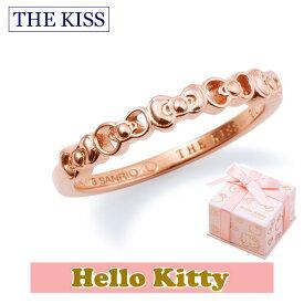 ハロー キティー【HELLO KITTYxTHE KISSコラボ】 THE KISS シルバー ピンキー リング 【レディース販売】 SV925製 リボンモチーフ ピンクコーティング KITTY-13 記念日 バレンタイン ホワイトデー