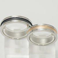 vie ステンレス ペアリング 結婚指輪 マリッジリング 【1本販売】 サージカルステン製 幅広でシンプルリングに刻み込みたい文字、数字など刻印 結婚記念日 ホワイトデー
