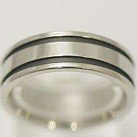 vie ステンレス ペアリング 結婚指輪 マリッジリング 【メンズ販売】 サージカルステン製 少し幅広でリングの表に好きな言葉などが 結婚記念日 ホワイトデー ★メール便OK