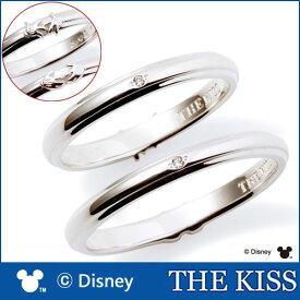 送料無料 【ディズニーコレクション】 ミッキー & ミニー THE KISS シルバー ペアリング ダイヤモンドxダイヤモンド 【ペア販売】 SV925製 DI-SR1814DM-DI-SR1815DM ハンドモチーフペアリング ディズニーペアリング 指輪 記念日 クリスマス ホワイトデー