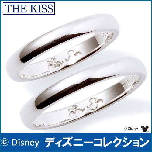 送料無料 【ディズニーコレクション】 ミッキー & ミニー THE KISS シルバー ペアリング ダイヤモンドxダイヤモンド 【ペア販売】指輪 ディズニー SV925製 DI-SR1812DM-DI-SR1813DM ペアリング ディズニーペアリング 指輪 THEKISS バレンタイン