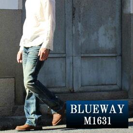 ブーツカットジーンズ;BLUEWAY:ビンテージデニム・エンジニア フレアカットジーンズ(ダイハード2):M1631-7155 ブルーウェイ ジーンズ メンズ デニム ジーパン 裾上げ
