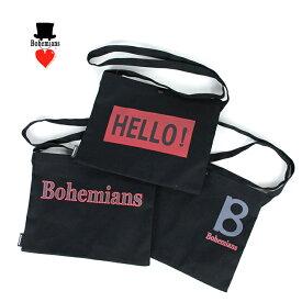 Bohemians/ボヘミアンズ COTTON SACOCHE BAG  BB-176