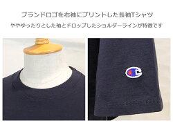 Champion,チャンピオン,長袖Tシャツ,C3-L415