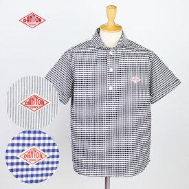 DANTON ダントン メンズ 半袖プルオーバーワークシャツ JD-3569TRD