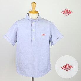 DANTON ダントン メンズ 半袖プルオーバーワークシャツ JD-3569YOX