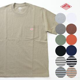 DANTON/ダントン クルーネック ポケットTシャツ JD-9041