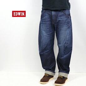 EDWIN/エドウィン <メンズ> E FUNCTION ルーズフィット 濃色ブルー EF04