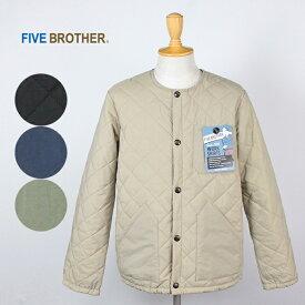 【SALE】FIVE BROTHER/ファイブブラザー <メンズ> ナイロンキルトジャケット 151880