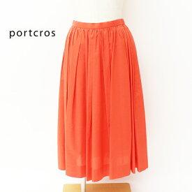 portcros/ポートクロス <レディース> ローンタックギャザースカート I-8221