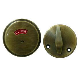 シュラーゲ 表示錠(開き戸用) アンティークブラス/Schlage B571