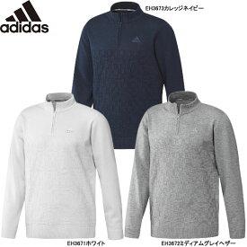 【24時間限定】1/25 エントリー&楽天カード決済でP最大36倍 【2019 A/W】 アディダス メンズ ジャカードパターン 長袖ジップアップセーター FYO85 (Men's) adidas