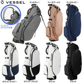 ♪【21年継続モデル】ベゼル メンズ プレイヤー 2.0 スタンド シングルストラップ キャディバッグ 8530119 (Men's) VESSEL Player 2.0 Stand Single Strap