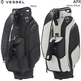 ♪【先行予約】【21年モデル】ベゼル APX Staff プレミアムカートバッグ キャディバッグ 8730120 (Men's) VESSEL APEX