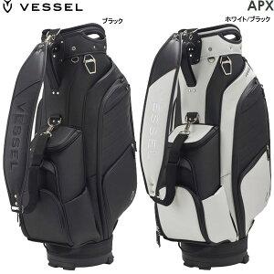 ♪【先行予約】【21年モデル】ベゼル APEX プレミアムカートバッグ キャディバッグ 8730120 (Men's) VESSEL APEX