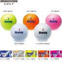 【プリントネーム】 ブリヂストンゴルフ ゴルフボール ニューイング スーパーソフト フィール ビビットカラーボール1ダース(12球) Newing SUPER SOFT FEEL