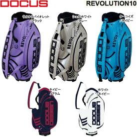 【20年モデル】ドゥーカス REVOLUTION10 キャディバッグ (Men's) DOCUS 2020 REVOLUTION 10 DCC756