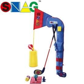 【21年継続モデル】 スナッグゴルフ プレイセット 0041 (ランチャー,ローラー,スナッグフラッグ, ボール(6個),ランチパッド,ソフトケース,解説DVD) SNAG GOLF
