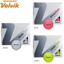 【18年モデル】 ボルビック ビビッド ソフト ボール 1ダース(12球入り) Volvik VIVID SOFT BALL