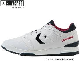 ♪【先行予約】【20年春夏モデル】コンバース メンズ/レディース ゴルフ シューズ スターテック GF (UNISEX) 33500050(ホワイト/ネイビー/レッド) CONVERSE