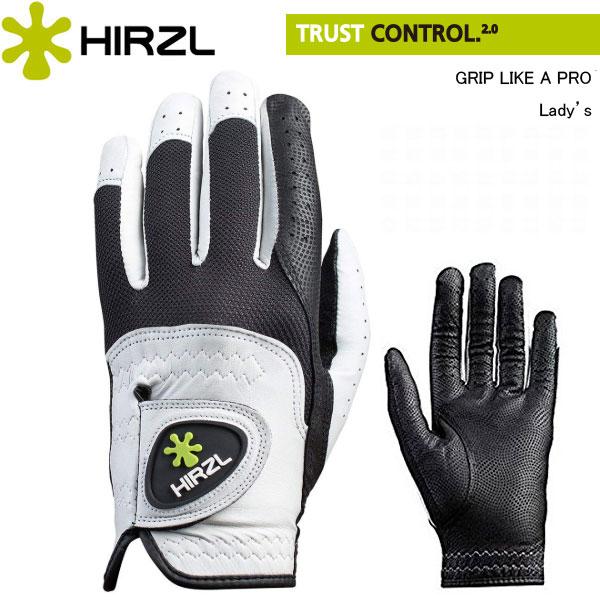 【レディース】【雨でもすべらない】 ハーツェル トラストコントロール2 グローブ (左手用) 18〜21cm (Lady's) HIRZL TRUST Control 2.0 GLOVE