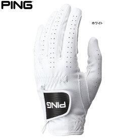 ♪【21年継続モデル】ピンゴルフ メンズ シンセティック レザーグローブ GL-P202 (Men's) 35075 PING GOLF