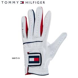 ♪【19年継続モデル】トミーヒルフィガー ゴルフ グローブ 00ホワイト THMG801 (ユニセックス) GLOVE TOMMY HILFIGER GOLF