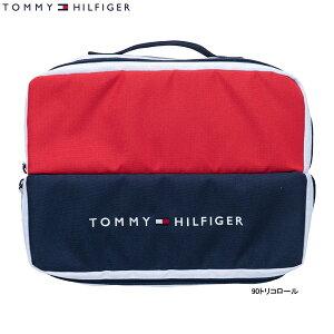 ♪【20年継続モデル】トミーヒルフィガー ゴルフ メンズ/レディース シグネチャー シューズ ケース THMG9FS2 (ユニセックス) SIGNATURE SHOES CASE TOMMY HILFIGER