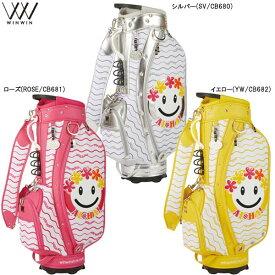 【21年モデル】ウィンウィン アロハスマイル キャディバッグ CB-680/CB-681/CB-682 ALOHA SMILE CART BAG WINWIN