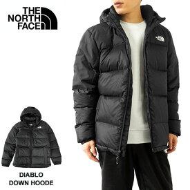 【試着サポート】ノースフェイス ダウン ジャケット メンズ THE NORTH FACE ダウンジャケット フード付き アウター ディアブロ M DIABLO DOWN HOODE (NF0A4M9L) 【2021AW 新作】本国 正規品