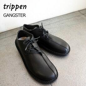 トリッペン レディース レザーシューズ Gangster ギャングスター レースアップ シューズ 革靴 Trippen GANGSTER-WAW202 【国内 正規品】【2020AW 新作】