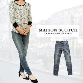 【70%offSale】MAISON SCOTCH メゾンスコッチ メイソンスコッチ レディース スキニーデニム ヴィンテージ ウォッシュ デニム ジーンズ